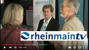 Rhein Main TV berichtet in diesem Beitrag vom 1. Frankfurter Hörtag